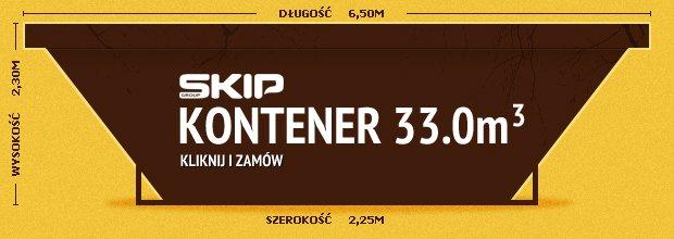 Kontener 33m3