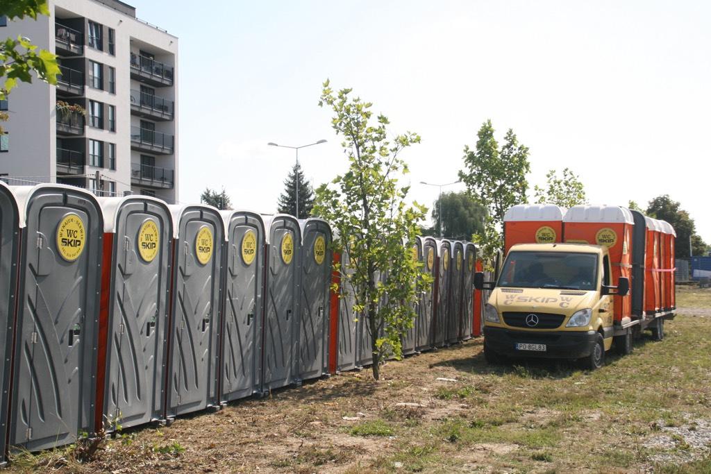 Toalety przenośne na wynajem Poznań