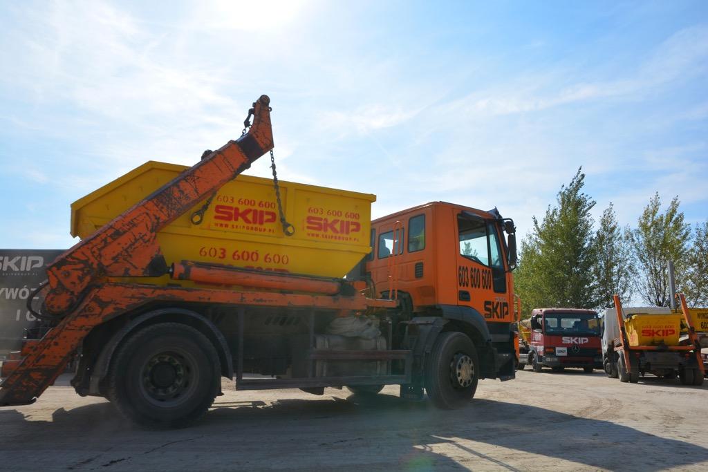 Wywóz odpadów remontowych Poznań